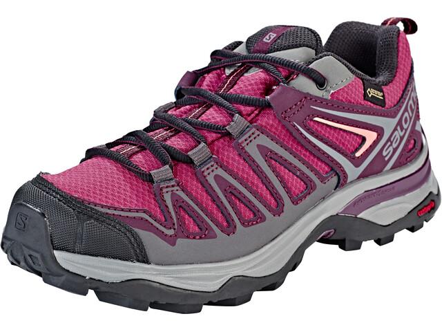 new products 28bb9 8581c Salomon X Ultra 3 Prime GTX Shoes Women grey purple